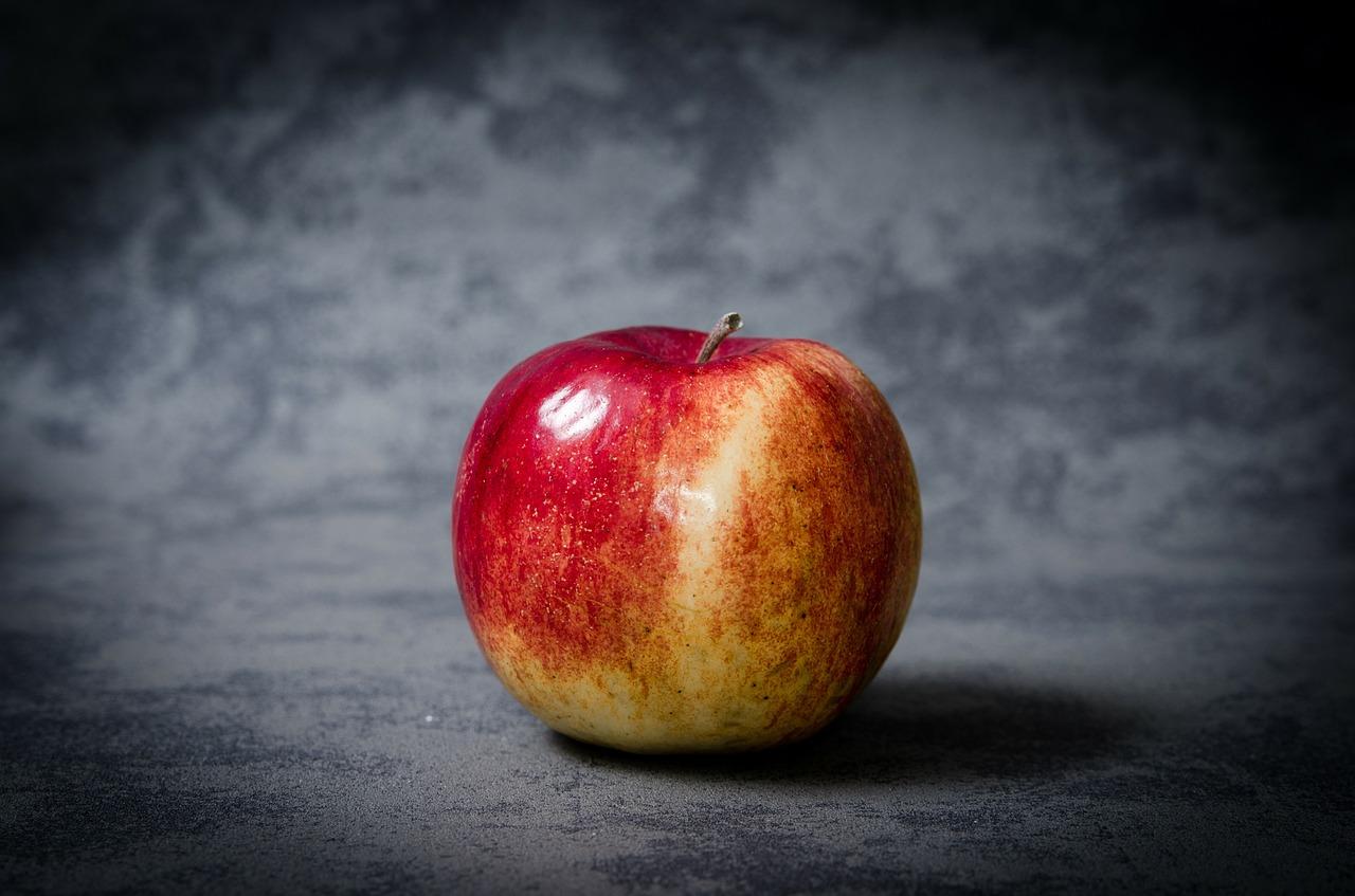ビタミンCの自由研究②りんごの変色で抗酸化機能を見る